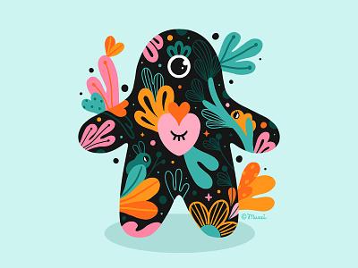 Love always wins love nature digital art characterdesign colorful procreate digitalart illustration
