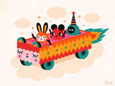 A happy ride!