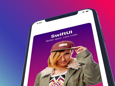 SwiftUI Masterclass Course mobile app design mobile app mobile ui animation swift development ios app swiftui