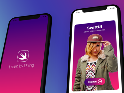 Learn by Doing iOS 13 app made with SwiftUI