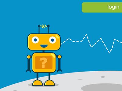 Yellow Robot yellow robot space