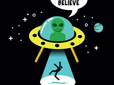 Alien Believe space ufo alien science