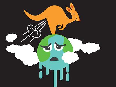 Kangaroo Fart Methane Gas space science earth kangaroo gas global warming
