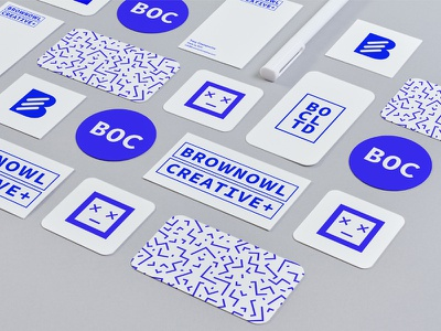 Brown Owl Creative Branding mockup brown owl creative branding