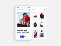 Brandin E commerce Website