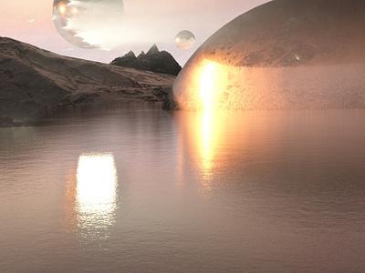 Outer Worlds design octane concept cinema4d 3d