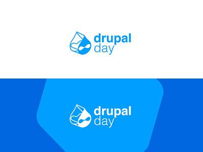 Drupalday logo branding drupal logo