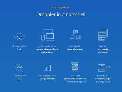 Droopler in a nutshell freebie free website droopler drupal