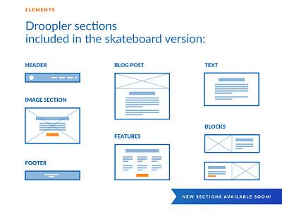 Droopler's features freebie free drupal droopler