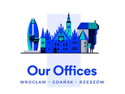 Our offices drupal droptica poland design rzeszow rzeszów gdańsk gdansk wroclaw wrocław