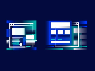 Website design and redesign services (icons) illustration icon services redesign ux drupal design