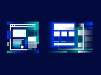 Website design and redesign services (icons)
