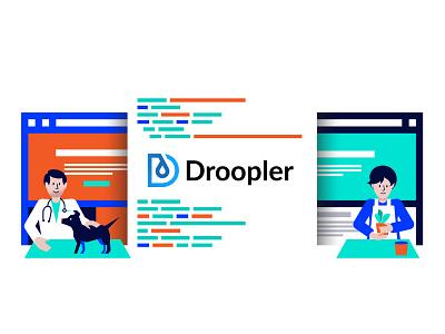 Illustration development agency development illustration droopler drupal design illustraion