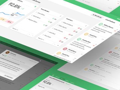 Simplesat Dashboard Design