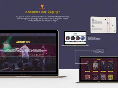 CGT Website Mockup