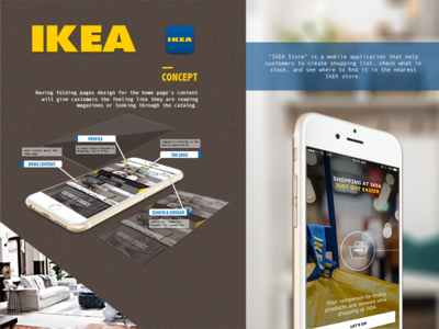IKEA Mobile Application Re-Designed