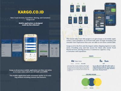 Kargo.co.id Mobile Application Re-Designed