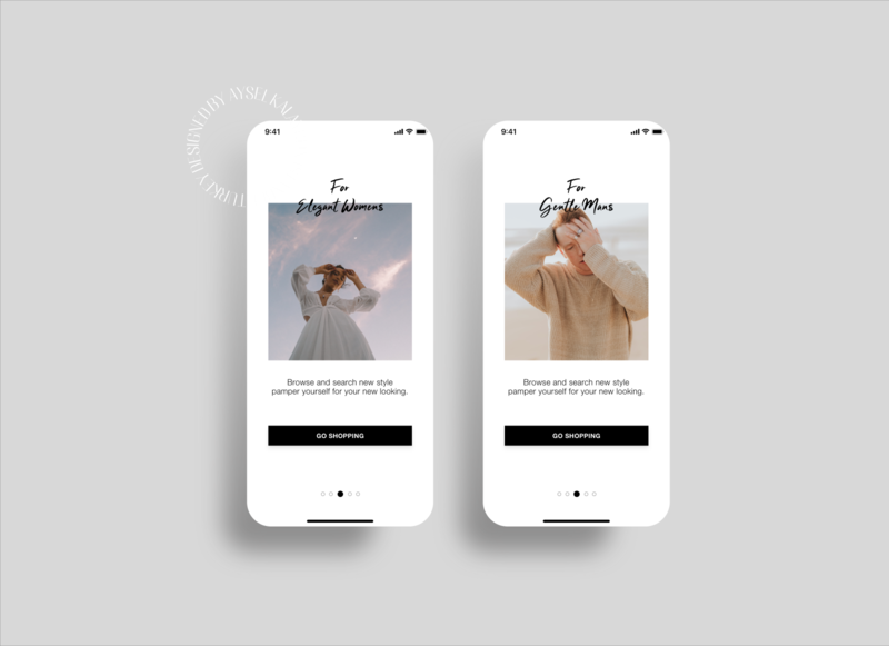 Eclipse Fashion App ecommerce brand design branding design mobile app design mobile app mobile app design ux ui
