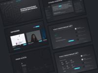 Digital Agency main screens