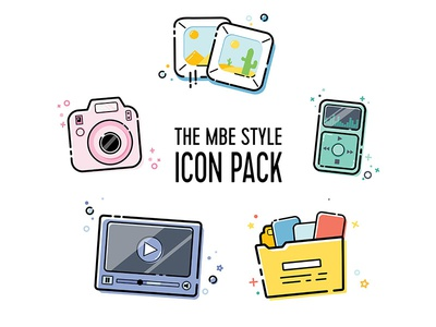 MBE Style Icon Pack Vol.1