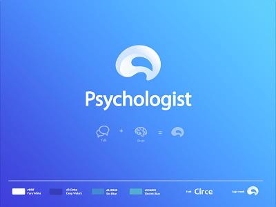 Psychologist Logo Design vector mental health brain logo psychologist psychology design concept logo design logo