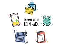 MBE Style Icon Pack Vol.3