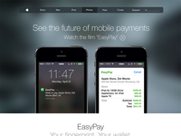 EasyPay - Touch ID Payment System - Concept