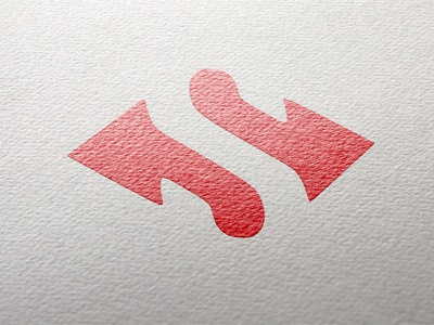 Logomark for Translation Bureau negative space s logo translation bureau ilja2z arrows logo logomark