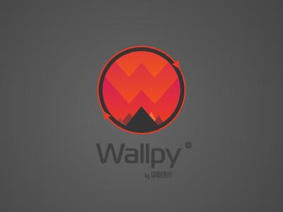 Logo for a Wallpy app