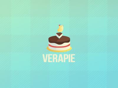 Verapie - Logo for a bakergirl