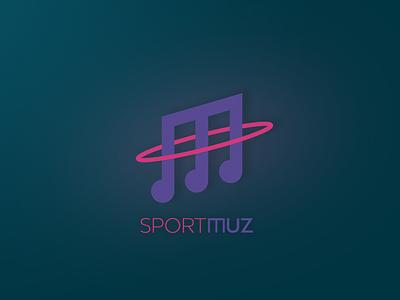 Logo for an online music service ilja2z m logo logo hula hup online service music sport