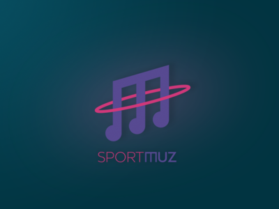 Logo for an online music service