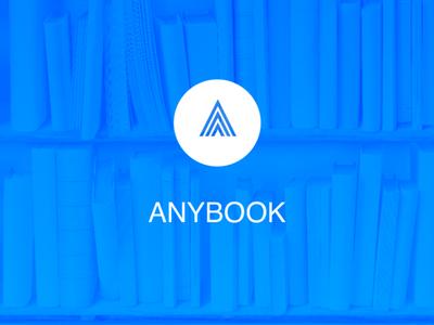 Logo for  Anybook app splashscreen