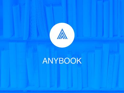 Logo for  Anybook app splashscreen splashscreen ilja2z ux ui app logo book anybook