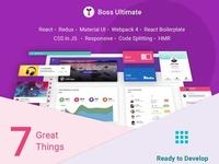 Boss Ultimate - Admin Template Material Design