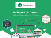 TheCourse - Multipurpose Education Wen Template