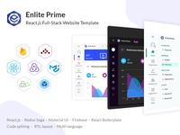 Enlite Prime - Clean Design Admin Dashboard