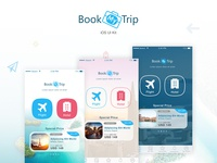 BookMyTrip - Mobile UI Kit Traveling Apps