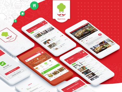 Redchili Food and Culinary Apps