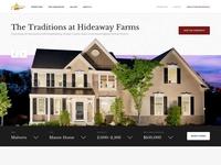 Unused Custom Home Builder website