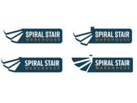Spiral Stair Warehouse Branding + Website
