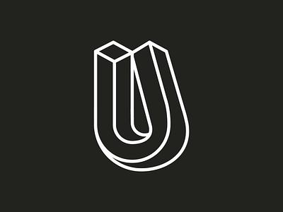 36 days of type ~ 21/36 ~ U vector-art icondesign lineicon illustrator icon vector u logo monogram logo 36daysoftype07 36daysoftype typography type