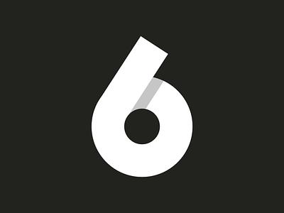 36 days of type ~ 33/36 ~ Six vector-art icondesign lineicon illustrator icon vector 6 logo monogram logo 36daysoftype07 36daysoftype typography type