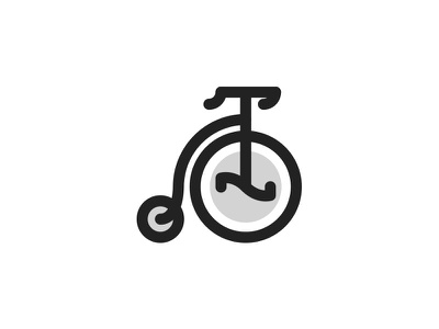 Penny Farthing vintage vector-art vector lineicon illustrator icondesign icon