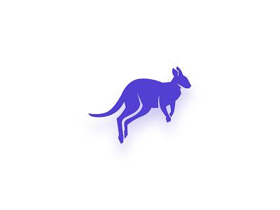 Clothing Brand Emblem - Logo Design shirt idenity branding dress cloth animal kangroo flat logo design emblem logo emblem mobile app design color ux ui minimal illustration modern clean