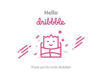 Hello.. Dribbble !