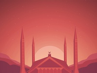 Faisal mosque - Illustration
