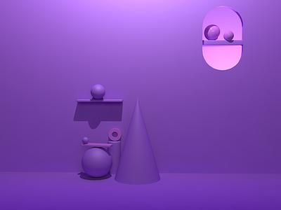 Day 4 of creating 3D junk icon abstract art branding blue illustration design 3d adobe photoshop cinema4d adobedimension