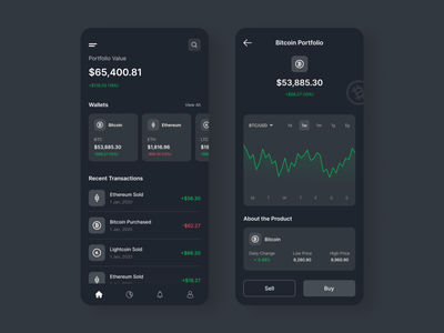 Cryptocurrency App crypto exchange crypto currency cryptocurrency crypto wallet crypto mobile app design ui design user interface app design user experience ux ui