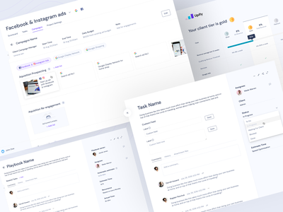 Upify - Ad Platform Web Designs. neat and clean web uiux webdesign website platform design design marketing web portal trending clean app design ui design app user interface user experience ui